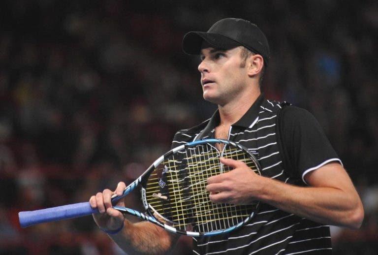 Andy Roddick revela ter um familiar com coronavírus