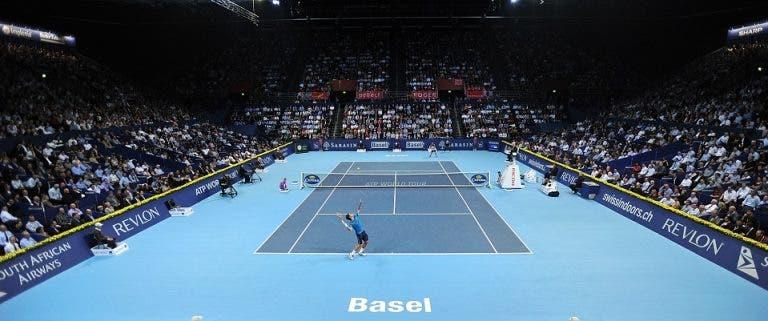 O quadro principal do ATP 500 de Basileia com Federer, Zverev, Tsitsipas e muito mais