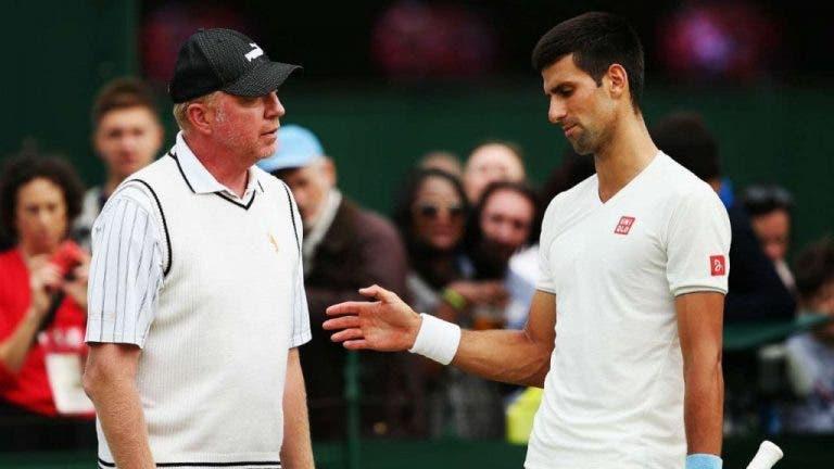 Becker também sai em defesa de Djokovic: «As críticas são injustas»