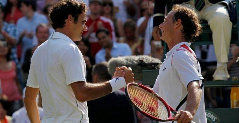 David Nalbandian considera Federer «o jogador mais completo da história»