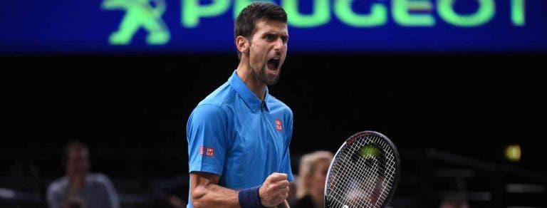 Tête-à-tête entre Djokovic e Murray continua em Paris