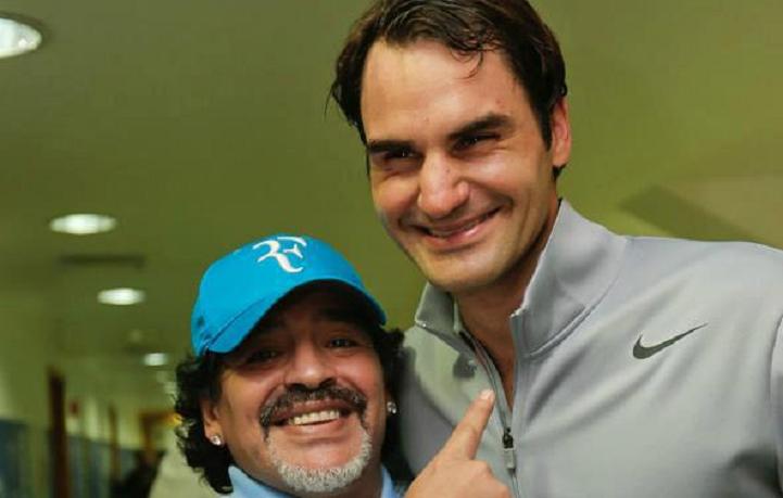Maradona: «Djokovic é um fenómeno, mas Federer… o melhor de sempre»