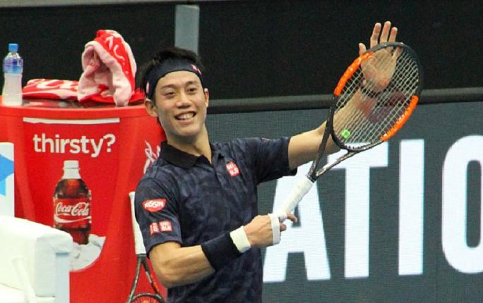 Aniversário de Kei Nishikori foi pelos pares (literalmente)