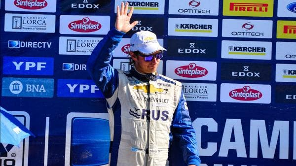 David Nalbandian embate no primeiro título no campeonato de rally
