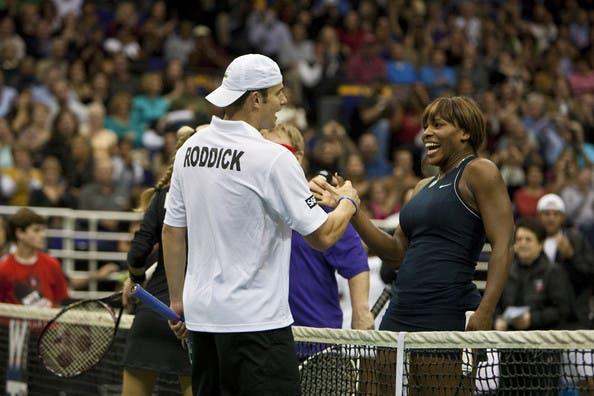 Andy Roddick: «Serena Williams está no mesmo nível que Michael Jordan ou Muhammad Ali»