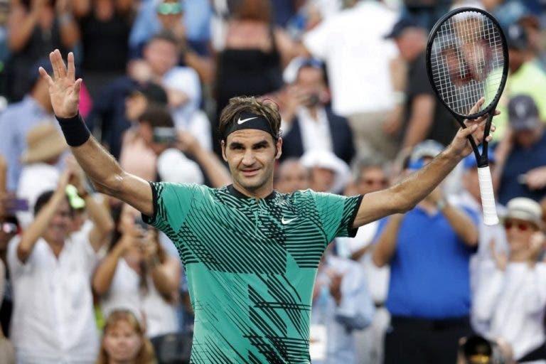 Federer e o barulho vindo do público: «Estou mais do que habituado a bebés a gritar»