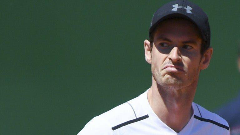 Andy Murray avança em Barcelona… sem entrar em court