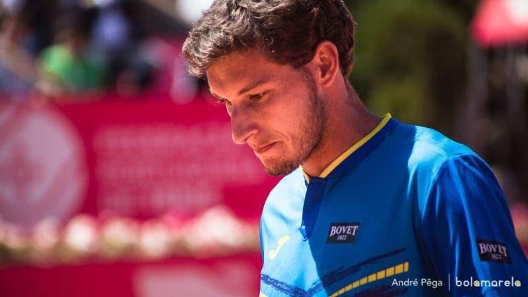 Carreño Busta continua lesionado e desiste de mais um torneio