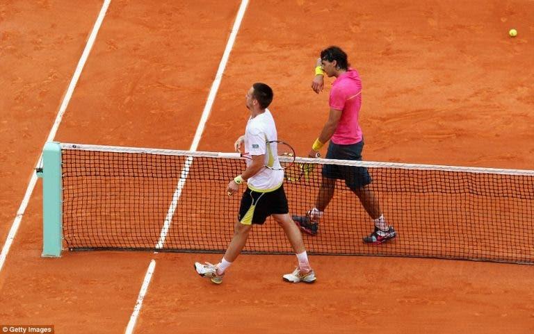 Nadal revela os dois piores momentos vividos na carreira em Roland Garros