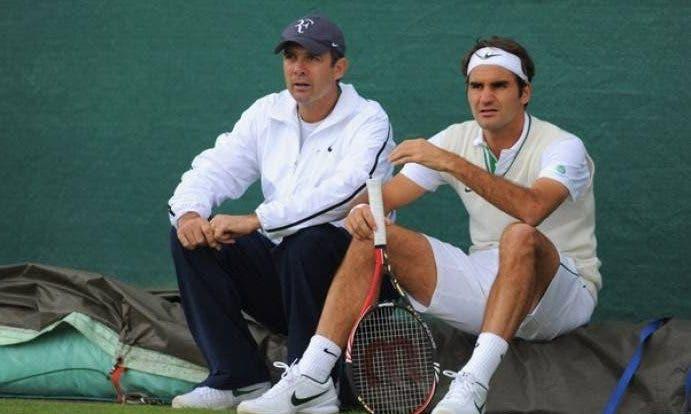 Antigo treinador de Federer: «Não vejo motivos para o Roger não voltar a vencer Wimbledon»
