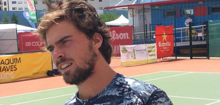 João Monteiro não resiste a ex-top 200 espanhol e perde final nas Caldas da Rainha
