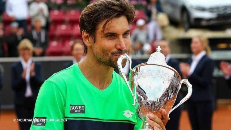 David Ferrer regressa aos títulos com 35 anos em Bastad
