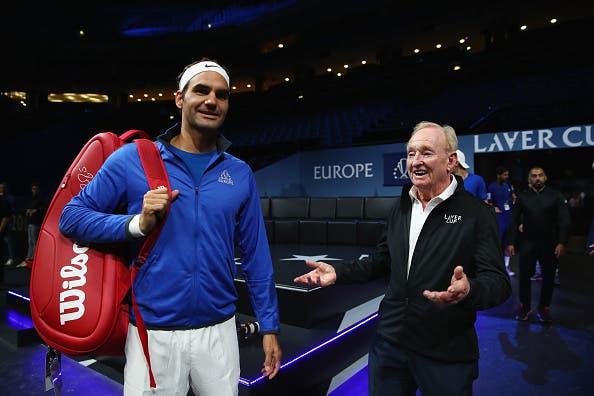 Rod Laver: «Federer está a jogar tão bem como há 10 anos atrás»