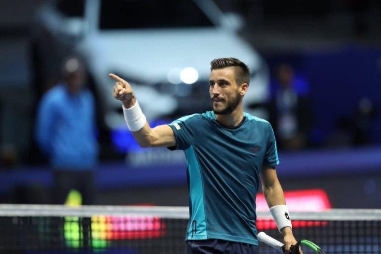 Damir Dzumhur bate Fabio Fognini e vence em São Petersburgo o primeiro título ATP do currículo