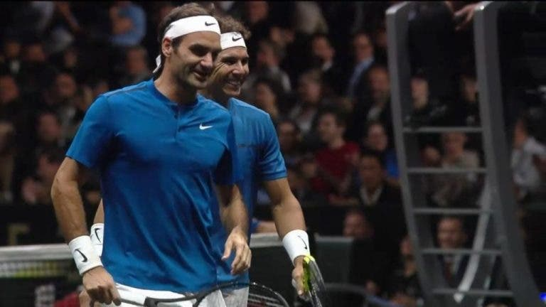 Federer aceita o desafio de voltar a jogar pares com Nadal na Laver Cup