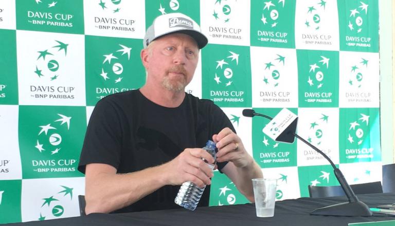 Boris Becker oferece-se para treinar… Nick Kyrgios