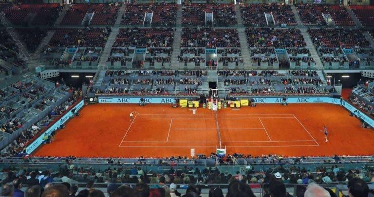 OFICIAL: Madrid Open CANCELADO devido ao coronavírus
