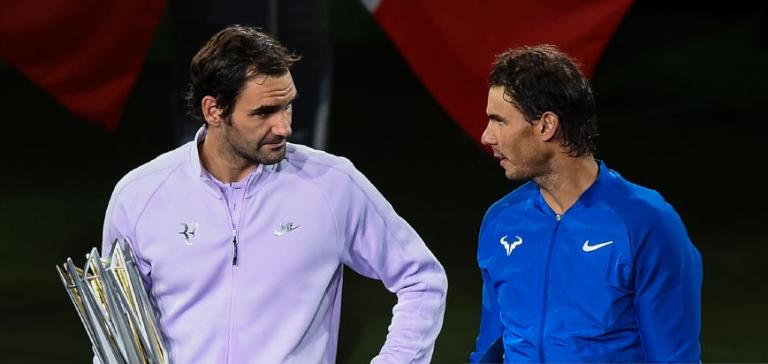 Federer destaca importância de Nadal mas não é por sua causa que ainda cá anda