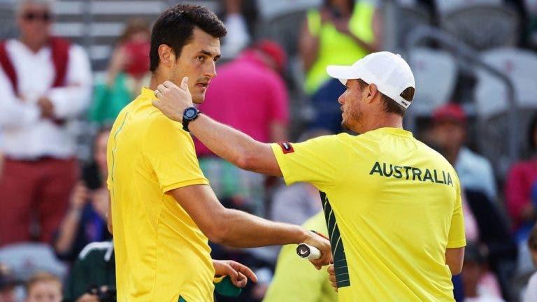 Federação Australiana defende Hewitt e arrasa Tomic: «Estamos decepcionados com esta falta de respeito»