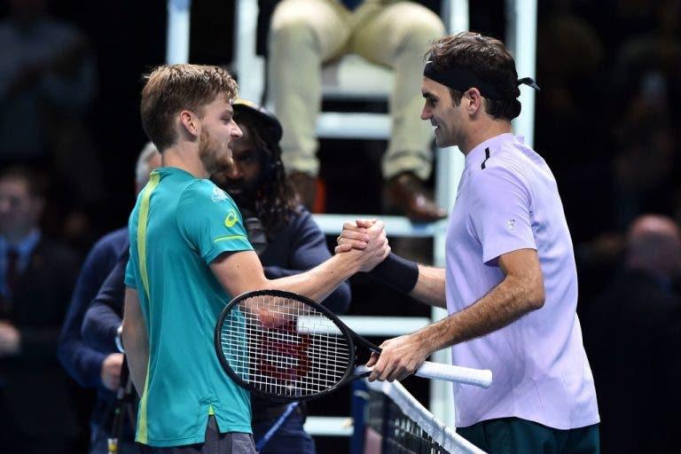 David Goffin: «Fiz um bom jogo contra Federer, em Xangai»