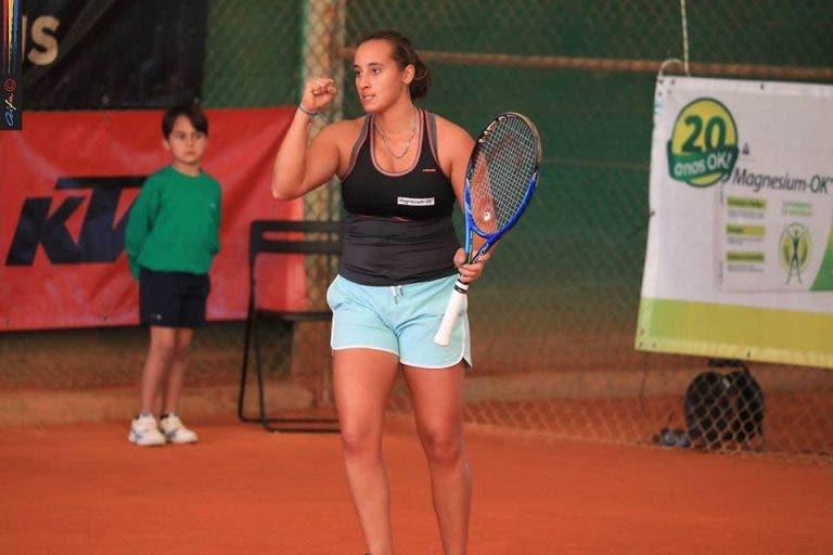 Cláudia Cianci: nasceu em Milão e tem a esquerda a uma mão de Federer e Henin