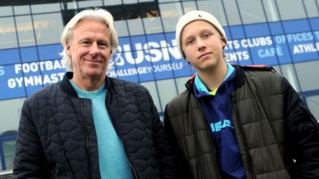 Com 14 anos o filho de Bjorn Borg já ganha títulos