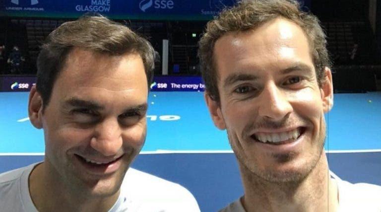 Murray reage a vídeo com Federer: «Ele tem sorte para car…»