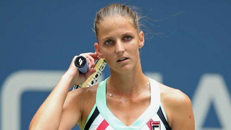 Karolina Pliskova também sai de cena nos 'oitavos' em Wimbledon