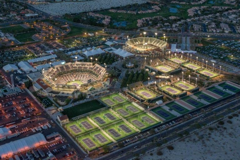 Presidente da WTA queria Indian Wells à porta fechada
