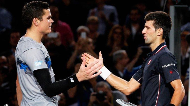 Raonic revela o que precisa de fazer para finalmente bater Djokovic