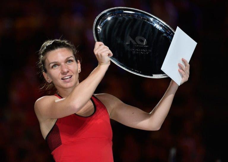 Simona Halep: «Estou triste por ainda não ter conseguido vencer, mas espero que à quarta seja de vez»