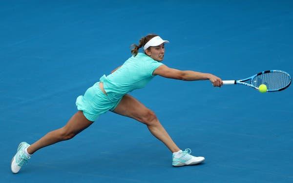 Elise Mertens derrota Buzarnescu (e a chuva) para defender o título em Hobart