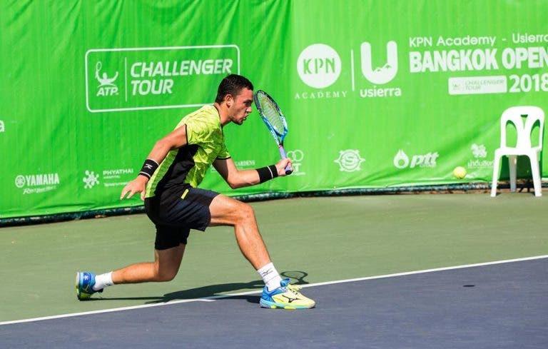 Gonçalo Oliveira discute título em Banguecoque na sua quarta final de pares no circuito 'challenger'