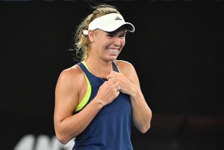 As reações nas redes sociais à incrível vitória de Wozniacki no Open da Austrália