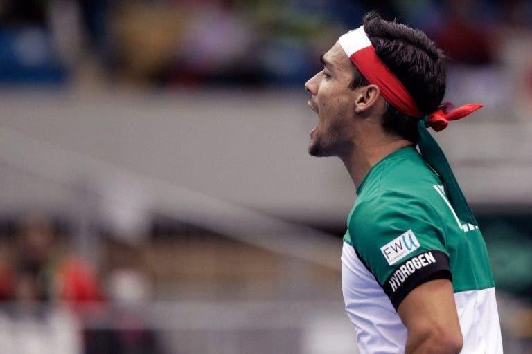 A vencer 7-6 e 4-0, Bellucci não aguenta vantagem e Fognini segue rumo aos 'oitavos' no ATP 500 do Rio de Janeiro