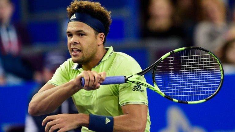 Tsonga continua a recuperar da lesão no joelho e vai falhar Roland Garros