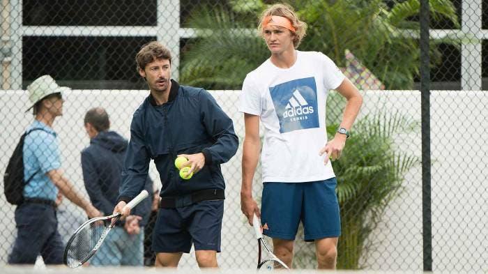 Ferrero: «Zverev perde tempo no Instagram e não se foca no ténis»