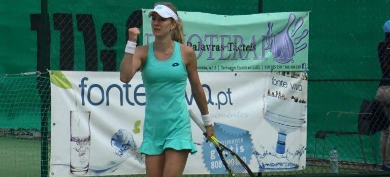 Urszula Radwanska alcança em Óbidos primeiras meias-finais da carreira desde 2015