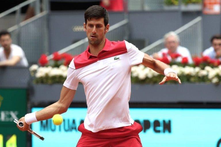 Eliminado. Novak Djokovic não resiste a Kyle Edmund e está fora de Madrid logo na 2ª ronda