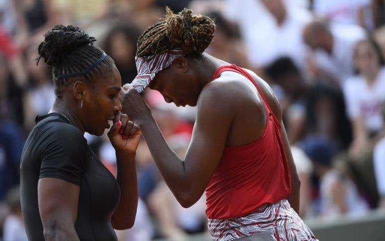 Fim de uma era? O incrível registo de Serena e Venus que caiu por terra