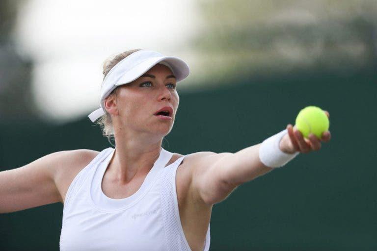 Zvonareva continua a amar o ténis aos 36 anos: «Estou a desfrutar do tempo em court»