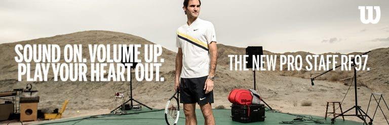 [VÍDEO] Roger Federer lança… uma música
