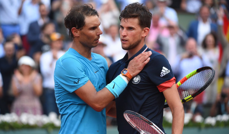 AO 2020: Siga Rafael Nadal vs. Dominic Thiem no nosso live center