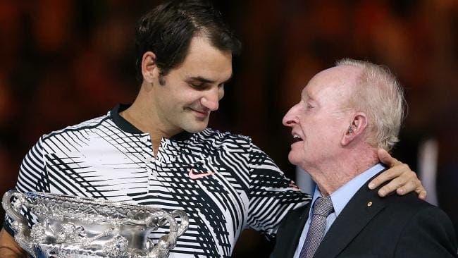 Rod Laver: «Se olharmos para os números, o Federer é o melhor da história»