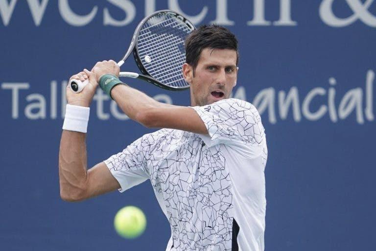 Djokovic e 'Cincinnati': «Não terá menos valor por Nadal e Federer não jogarem»