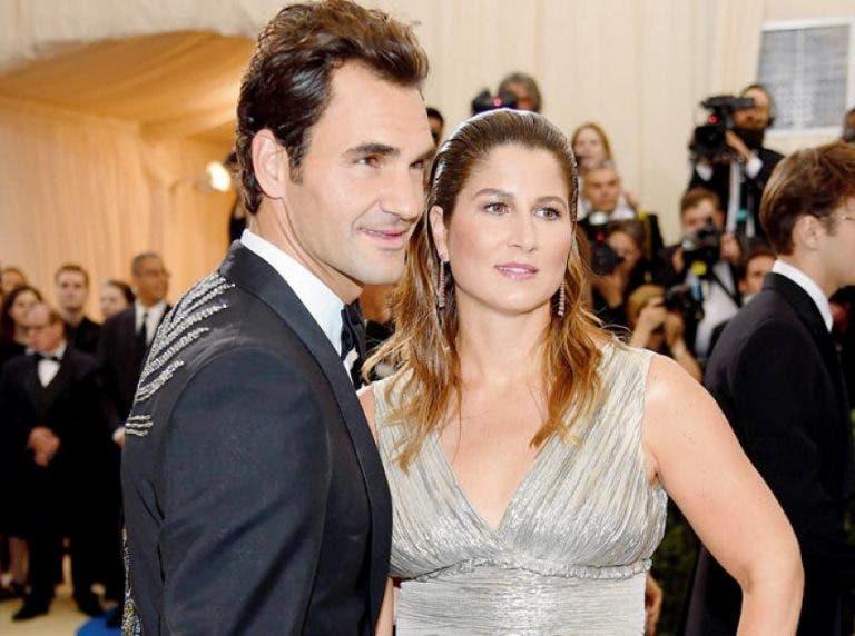 A festa de aniversário que Mirka e os filhos organizaram para Federer