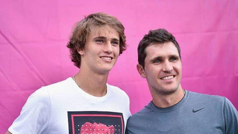 Sascha recorda treinos com o mano Mischa: «Ele sempre quis ser o Federer»