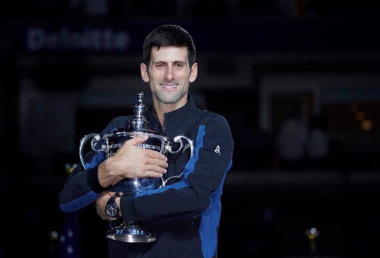 Djokovic é (novamente) o jogador com mais dinheiro da história em prize money