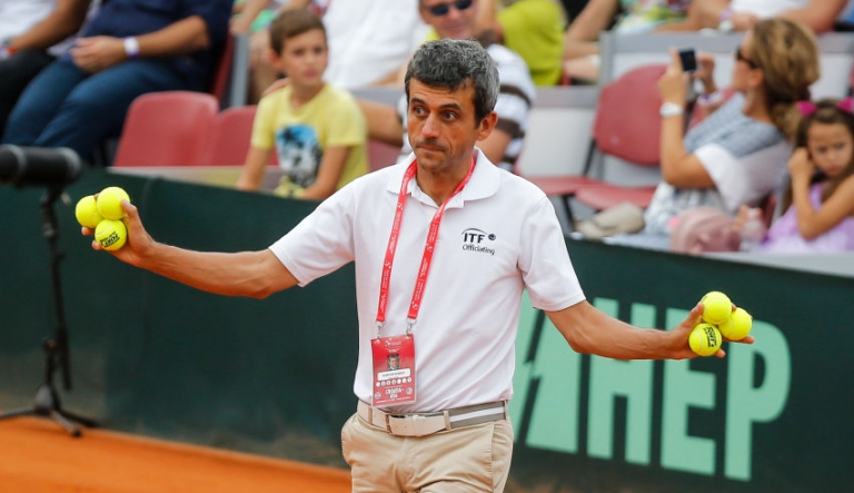 [FOTOS] Carlos Ramos está de regresso ao trabalho