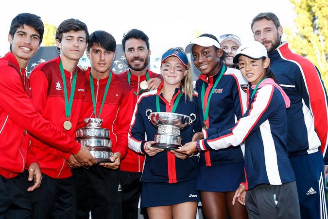 Espanha (rapazes) e Estados Unidos (raparigas) vencem a Davis/Fed Cup Júnior